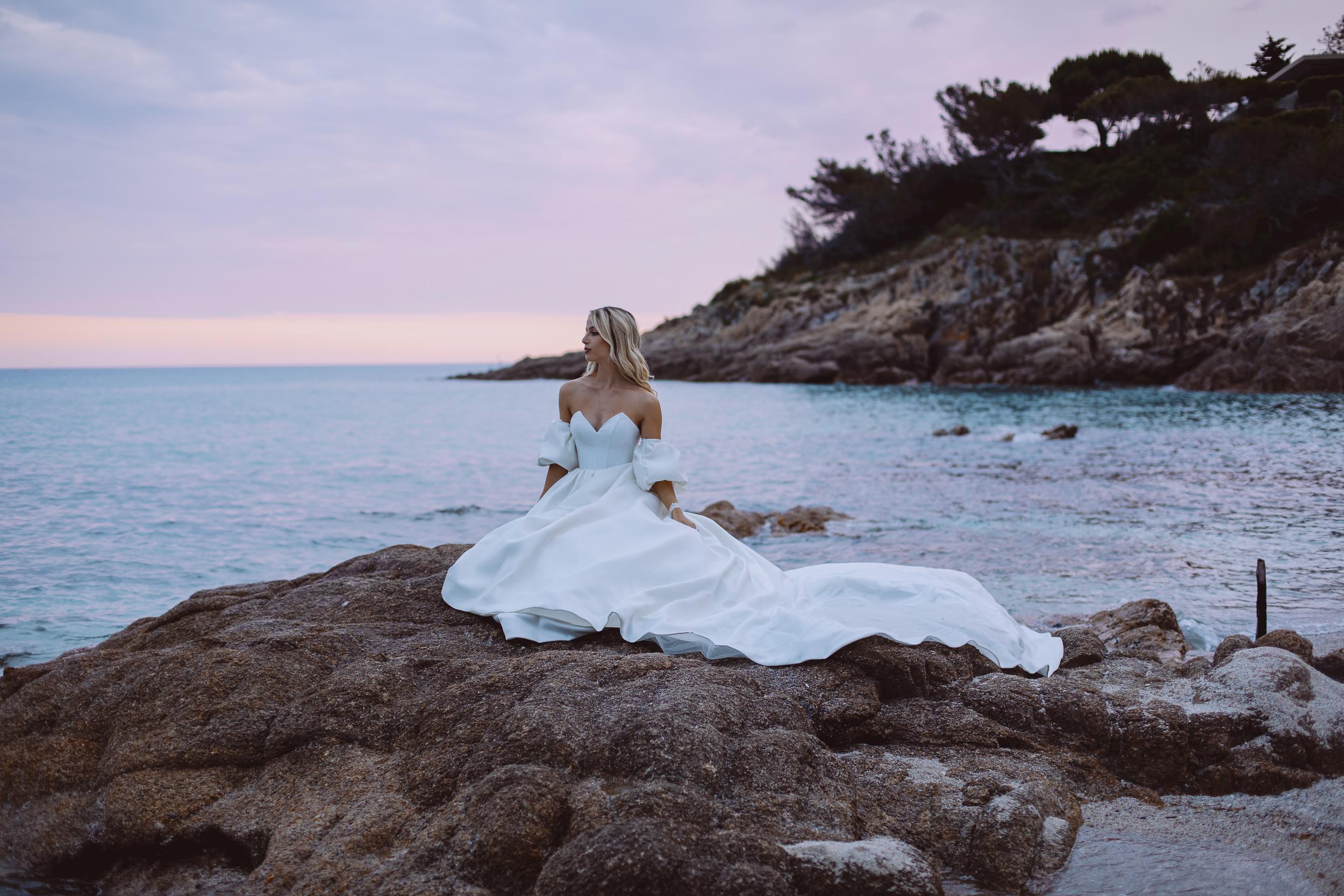 Une mariée à St Tropez